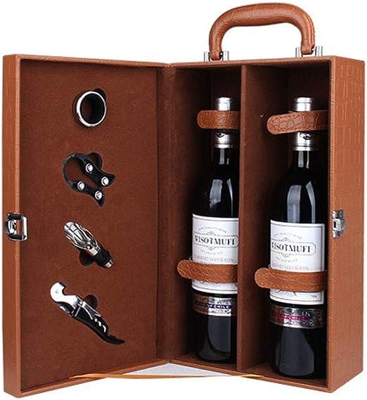 La Caja de Vino Puede Contener 2 Botellas de Caja de Regalo de ...