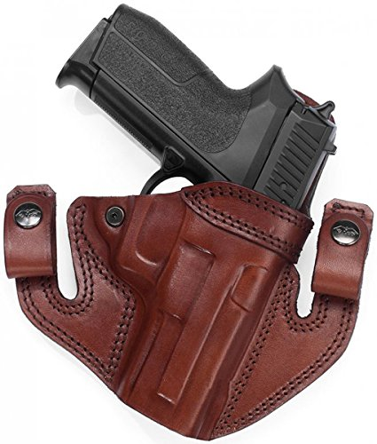Amazon com : Falco Holsters IWB/OWB Leather Holster for