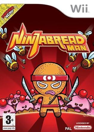 Ninja Bread Man (Wii) [Importación inglesa]: Amazon.es ...