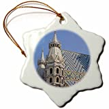 3dRose orn_70976_1 St. Stephens Cathedral Stephansdom, Vienna, Austria-EU03 AKA0050-Ali Kabas-Snowflake Ornament, Porcelain, 3-Inch