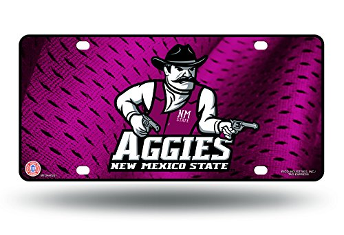 NCAA New Mexico State Aggies Metal License Plate Tag