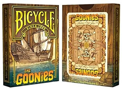 Amazon.com: Bicicleta The Goonies Juego de cartas: Sports ...