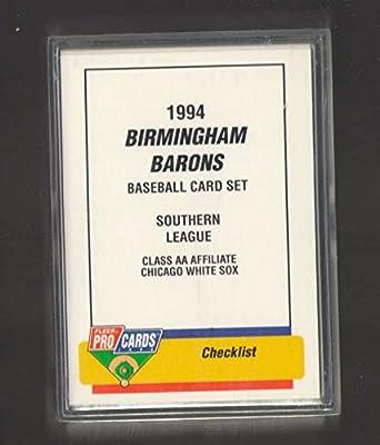 6eefe77a61e Amazon.com  1994 ProCards Fleer Team Set - Birmingham Barons (Michael Jordan