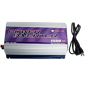 250W 300W 500W 600W 1000W 2500W Grid Tie MPPT Power Inverter Converter for Solar Panel and Wind Turbine Generator System Stackable Pure Sine Wave USA by NEWGATE