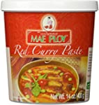 Mae Ploy Thai Red Curry Paste - 14 ou...