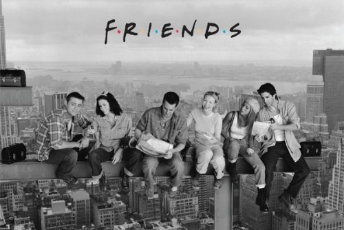 Friends Lunch on a Skyscraper Poster Print