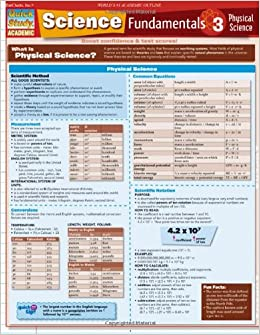 Science Fundamentals 3: Physical Science Quickstudy: Academic