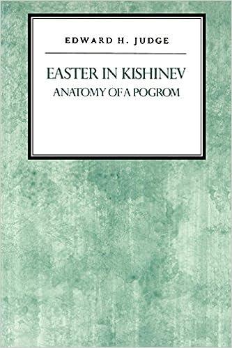 Descargar Libros Ebook Easter In Kishniev: Anatomy Of A Pogrom Epub O Mobi