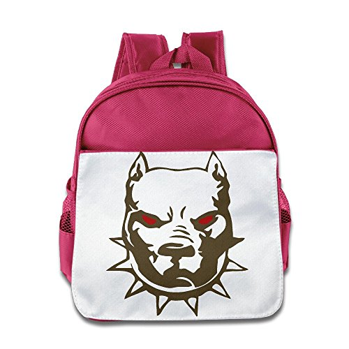 [JXMD Custom Funny American Bully Boys And Girls School Bagpack For 1-6 Years Old Pink] (Alvin And The Chipmunks Costumes For Kids)