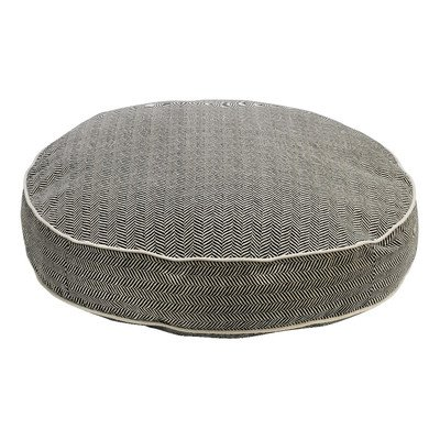 Bowers Super Soft Round Bed, Small, Herringbone For Sale