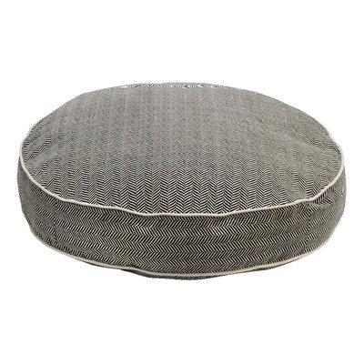 Bowers Super Soft Round Bed, Small, Herringbone