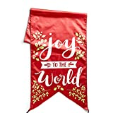 Christmas Door Banner – Joy to the World For Sale