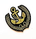 3'' X 3'' Beautiful Black Gold Boat Anchor Rudder