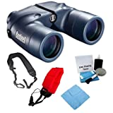 Bushnell Marine Waterproof 7x50mm Binoculars with Accessory Bundle