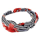 LANWF Goldfish Print Cross Hair Band Cute Elastic Headbands Beautiful Headwrap Hair Accessory