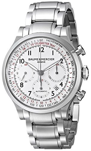 Baume Mercier Men s BMMOA10061 Capeland Analog Display Swiss Automatic Silver Watch