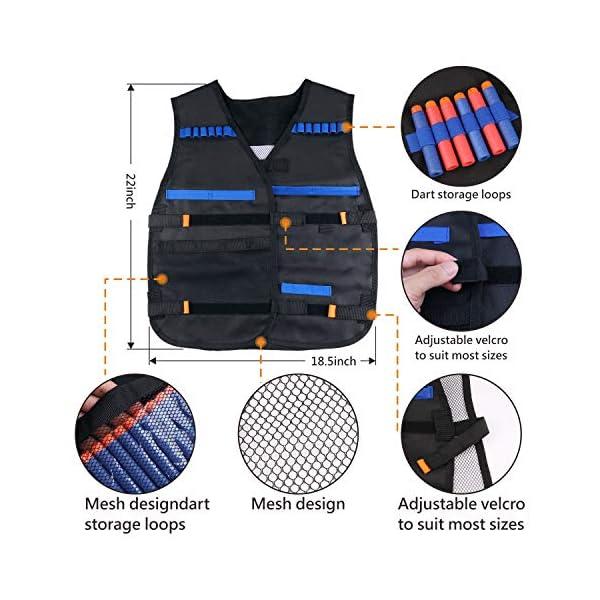Tactical-Vest-Kit-2-Pack-for-Nerf-Guns-N-Strike-Elite-Series