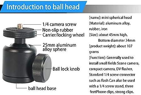 XIAOMIN 360 Degree Rotational Multi-Angle Macro Shooting Bracket for Digital Camera Black Premium Material