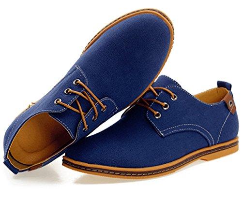 dadawen s canvas oxford casual shoe ik store