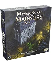 Fantasy Flight Games Current Edition Mansions of Madness Streets of Arkham Board Game