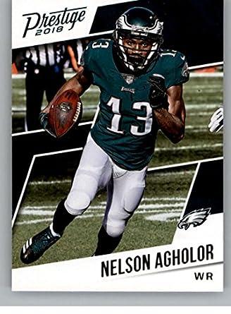 667460b8 Amazon.com: 2018 Prestige NFL #50 Nelson Agholor Philadelphia Eagles ...