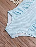 Baby Girl Bikini Striped Beach Swimsuit Ruffles
