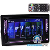 Soundstream VR-63B In-Dash 2-DIN 6.2 Touchscreen DVD Receiver with Bluetooth