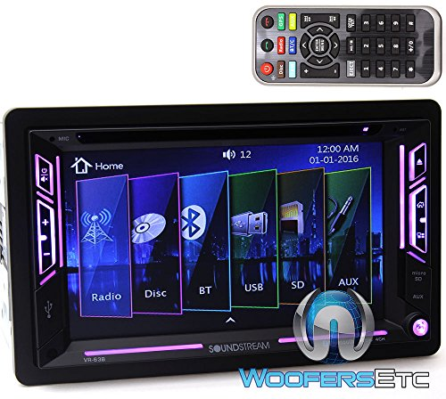 Soundstream VR-63B In-Dash 2-DIN 6.2