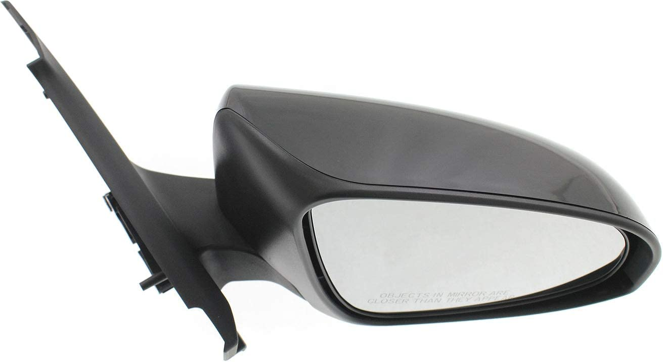 Kool Vue Manual Mirror For 2012-2014 Toyota Yaris Left Textured Black Folding
