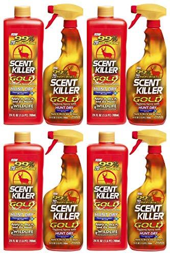 Combo Wildlife - Scent Killer 1259 Wildlife Research Gold 24/24 Combo, 48 oz. (Fоur Расk)