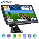 car GPS Navigation-Spoken Turn-by-Turn Directions, Direct Access, Driver Alerts,7 inch GPS Navigator System with Touch Screen/ 8GB Memory/Lifetime Map Update