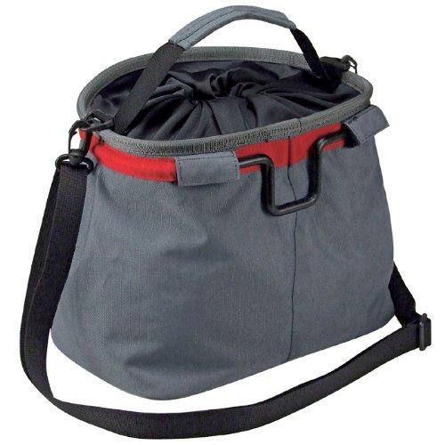 KLICKfix Farradtasche Light Bag Schwarz/Rot, 0304S