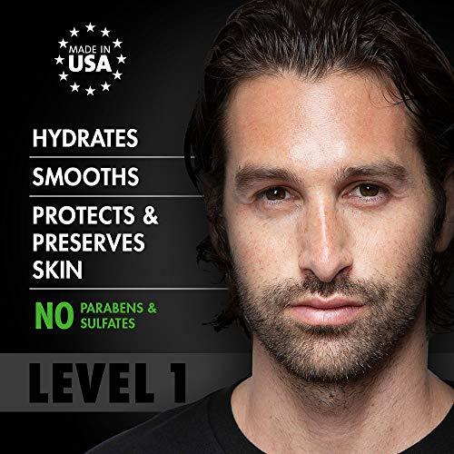 Tiege Hanley Men's Skin Care System – Level 1   Mens Routine Product Set: Face Wash, Morning Moisturizer, Exfoliating…