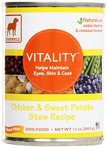 Dogswell Vitality, Canned Food, Chicken & Sweet Potato, 1...