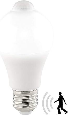 12W LED Glühbirne Birne mit Bewegungssensor Bewegungsmelder PIR Licht E27 Lampe