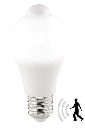 Mouvement Détecteur Led Luminea Ampoule Lm W 1055 De 12 E27 Avec 6Ybyf7g