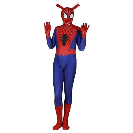 Spiderman Disfraz Adulto Traje NiñO, Traje De Cosplay De ...