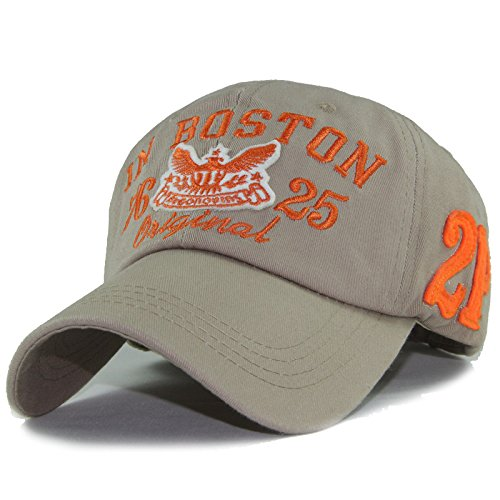 New baseball cap snapback hats for boy girls fashion visor cap letters print outdoor outdoor sun hats (Orange Color)