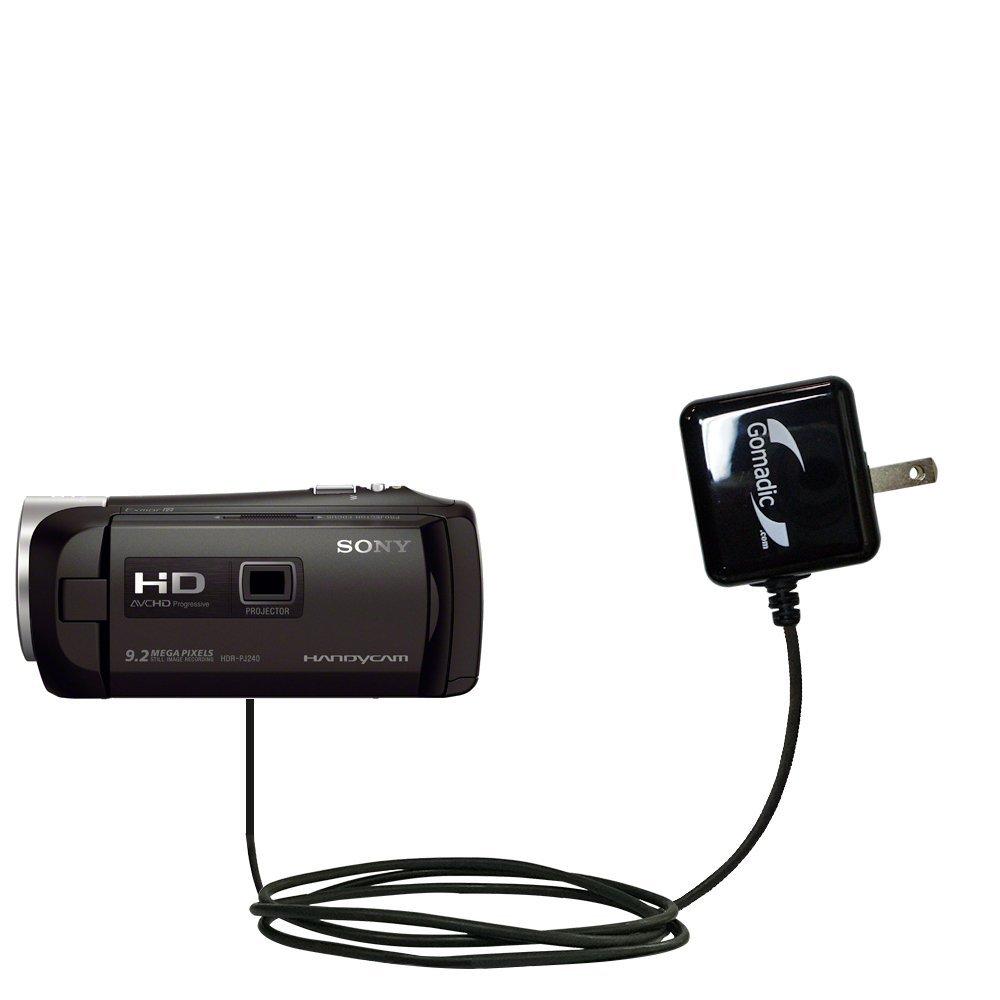 高度なRapid壁AC充電器と互換性Sony hdr-pj240 – 驚くほど強力なホーム充電デザインBuilt with GomadicブランドTipExchange B01GEV78JO