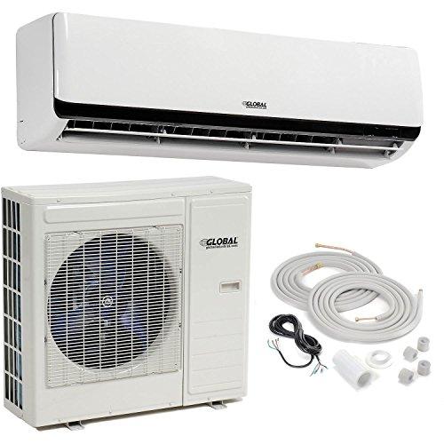 Ductless Air Conditioner, 24000 BTU, SEER 20