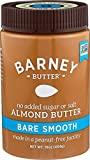 Gourmet Food : Barney Butter Almond Butter, Bare Smooth, 16 Ounce
