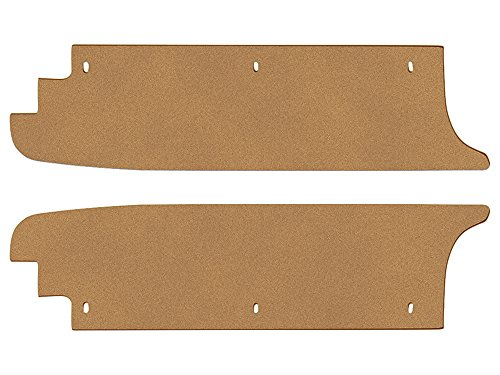 New 1966-67 Ford Fairlane 500 XL LH RH Side Extensions Trunk Filler Boards (FA117)