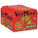 VerMints Organic Cinnamon Mints, Six /1.41-oz Tins