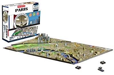 4d Cityscape Paris Time Puzzle from 4D Cityscape