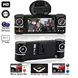 "Indigi F6 Full HD 1080p Dash Cam DVR + 2.7"" Color TFT +"
