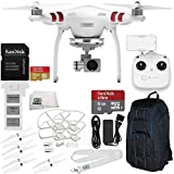 SSE DJI Phantom 3 Standard Quadcopter with SanDisk Extreme 32GB microSDHC Memory Card, 3-Piece Filter Kit and Accessories, Starter
