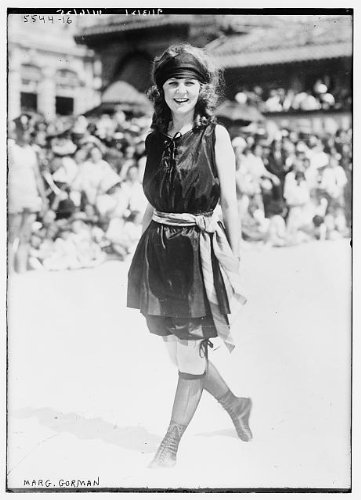 HistoricalFindings Photo: Margaret Gorman,first Miss America,short clothing,socks,beauty pageant winners