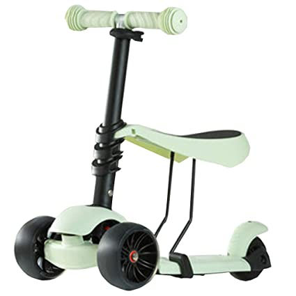 FJHH-Trottinettes Scooter for Kids Toddlers 2 en 1 ...