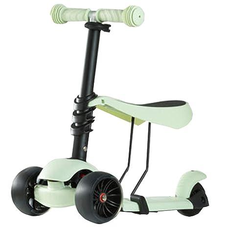 FJHH-Trottinettes Scooter for Kids Toddlers 2 en 1 ...