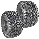 Set of 2 OEM Carlisle Tire 22.5X10X8 3 Ply HE Field Trax Tread JD Gator M138664